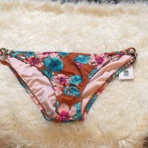 Sun Coast Cheeky Bikini Bottom Copper Tropical